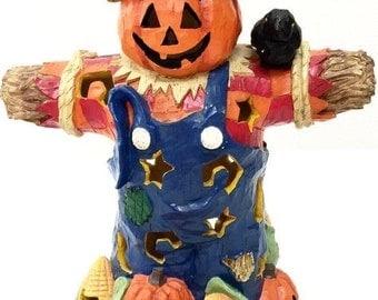 Primitive Halloween Scarecrow, Halloween Decoration, Halloween Scarecrow