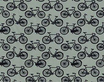 Bicycle design cotton fabric