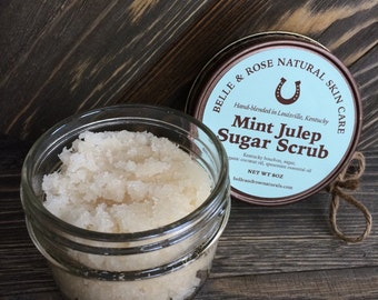 4 oz Mint Julep Sugar Scrub