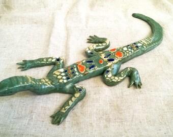 Ceramic lizard / Керамическая ящерица