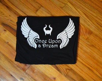 Once Upon a Dream shirt, wings, Maleficent, horns, Evil, Misunderstood