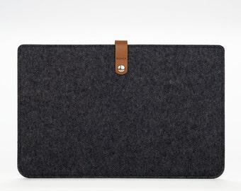MacBook Sleeve – MacBook Air Case – MacBook Air Cover – MacBook Air 13 Leather - Felt Leather Case