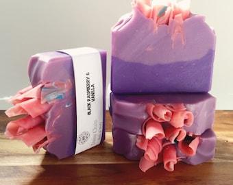 Soap - Black Raspberry & Vanilla