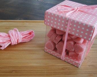 100 heart  sugar cubes, handmade item, tea parties, baby shower, valentine day, bridal shower.