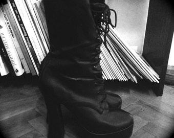 PLEASER Electra 1020 Platform Boots (not vintage)