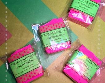 Watermelon Soap Bars