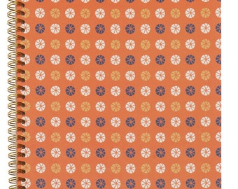 NOTEBOOK A4 ETHNIC ORANGE