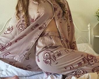 Gorgeous Silk Pajamas- Swiss Made
