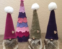 "Fun Gnomes, Swedish Gnomes/Tomten with Tree!, adorable gift set, group ""M"""