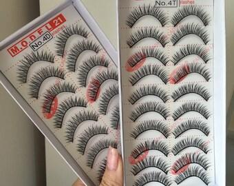 M.O.D.E.L fashion false eyelashes [1 box/order]