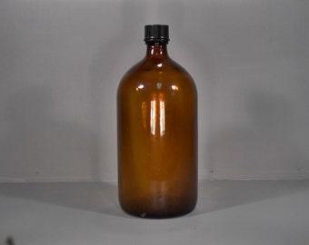 Vintage Upjohn Apothecary Bottle - A00046