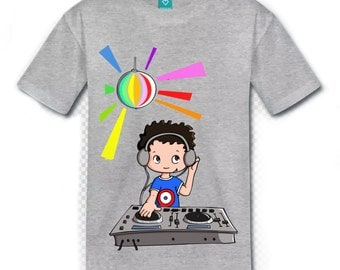 t-shirt boy Dj
