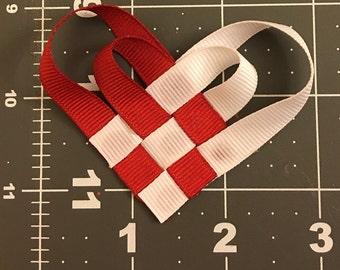 Valentine's Day Heart Hair Clip