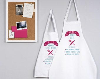 Mummy And Me Apron Set - Matching Aprons For Mummy And Me - Mummy And Me - Apron Set - Mini Me