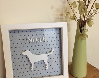 Personalised Dog Wall Art