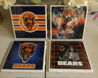 Chicago Bears coaster set