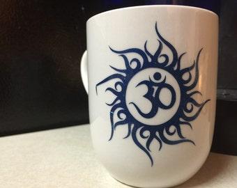 Om art coffee/tea  mug