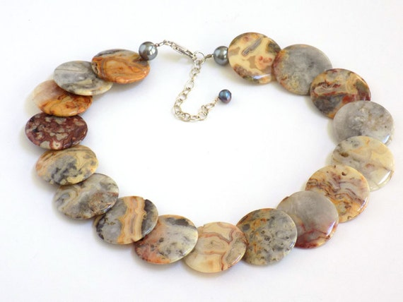 large bead necklace gemstone jewelry beaded choker necklace