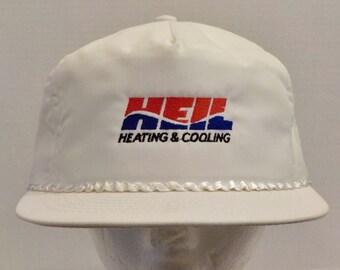HEIL Heating & Cooling-SnapBack-Vintage-Baseball-Truckers- Dad Hat-Cap