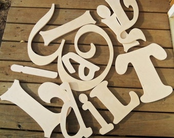 8 wooden letters wooden initials nursery decor wooden wall art unpainted letters for nursery any size wood letters
