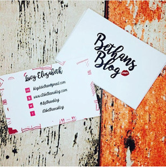 Business/networking cards