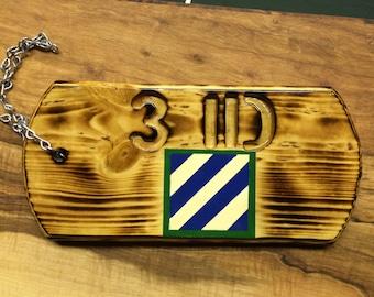 3rd infantry division dog tag