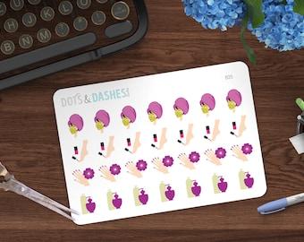 B25- Manicure reminder, pedicure reminder, facial reminder, spa treatment, nail care, nail care reminders