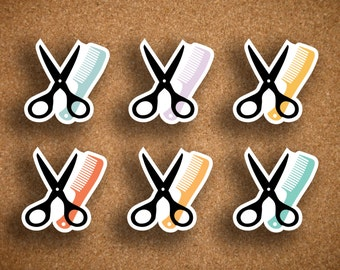 Inkwell Press Haircut, Hair Appointment, Salon Planner Sticker IWP-DCHC1