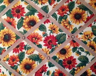 """Sunflower French Bulletin Board- 16"""" x 20"""""""