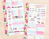 Tea Party PERSONAL Set (matte planner sticker, Filofax, Kikki K, Websters Pages, Color Crush)
