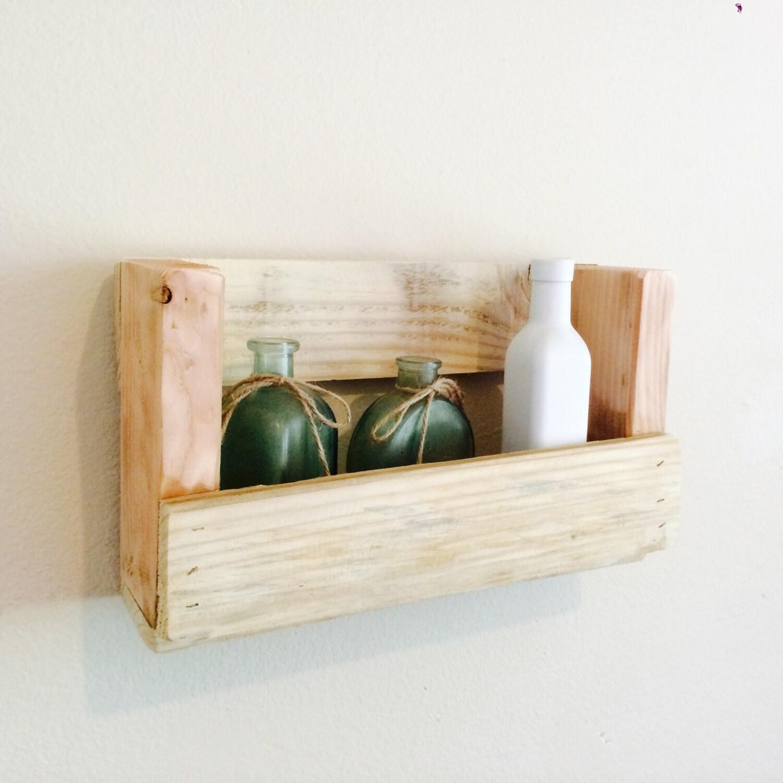 Pallet Wood Shelf: Small Pallet Wood Shelf Pallet Shelf Reclaimed WoodPallet