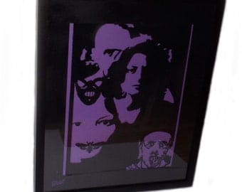 Silence Of the Lambs Inspired Paper Cut Out Artwork