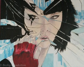 My Mirror's Edge Painting.