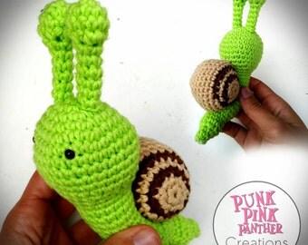 Snail Amigurumi Snail Schnecke