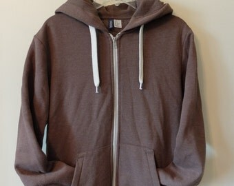 Brown H&M Hoodie Size Small