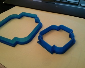 Lego Head Cookie Cutter