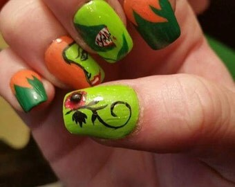Poison ivy art etsy poison ivy nail art prinsesfo Image collections