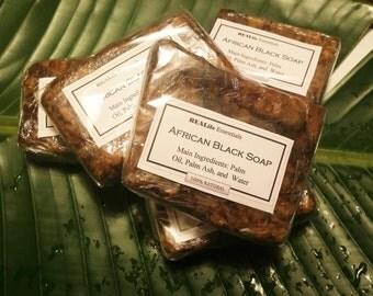 Black Soap 8oz bar (1/2 lb)