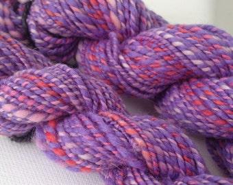 Cotton Candy Blend Handspun Yarn 129 Yards