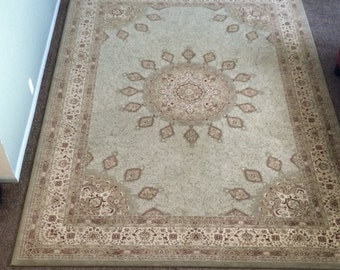 Vintage Turkish rug 8'X11'
