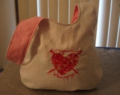 Embroidered Medium Yarn Therapy Knot Bag