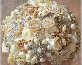 Custom Made Wedding Brooch Bouquets - Deposit