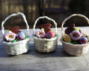Miniature Easter Basket