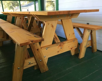 """13' Picnic Table - """"The Kings Table"""""""