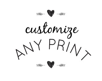 Customize Any Print | Digital Download