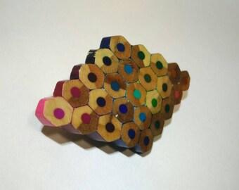 Colouring Pencil Brooche