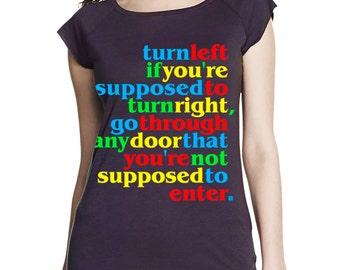 Rules women's bamboo T shirt