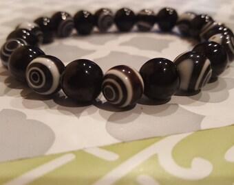 Swirl Beaded Bracelet