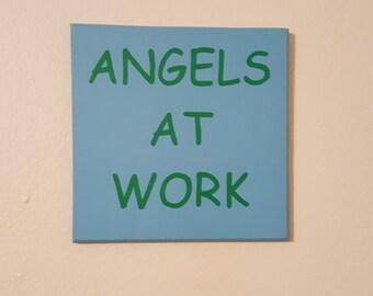 Angels at Work Wall Decor