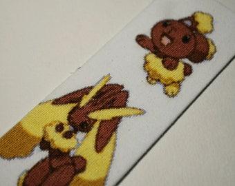 Buneary bookmark (cross stitch)